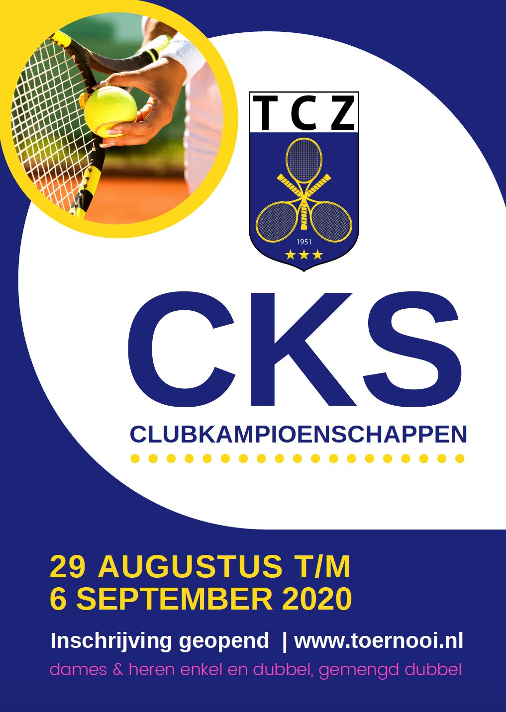 ontwerp poster TCZ