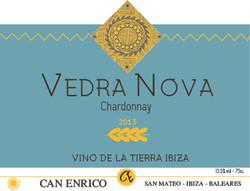 Wijnetiket Vedra Nova