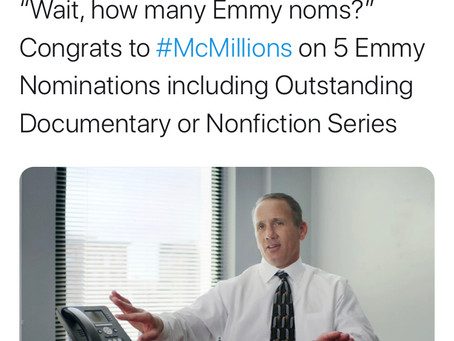 McMillion$ Nominated for 5 Emmys