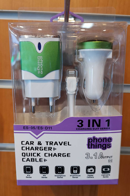 Car& Travel Quick Charger