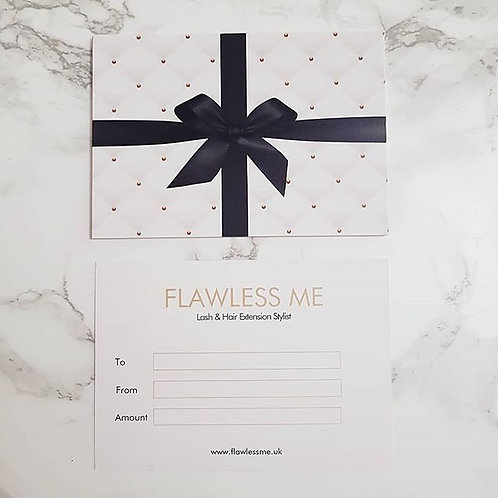 Hair and eyelash extension gift card high wycombe in buckinghamshire