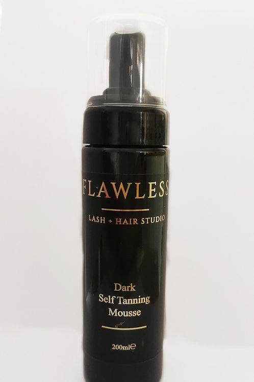 Flawless DARK Self Tanning Mousse