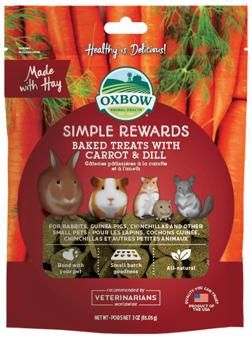 Oxbow Treats Carrot and Dill