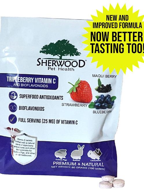 Sherwood Tripleberry Vitamin C Tablets