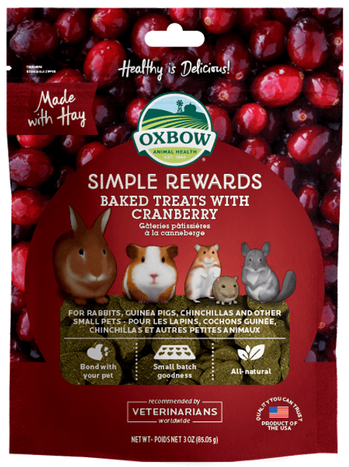 Oxbow Treats Cranberry