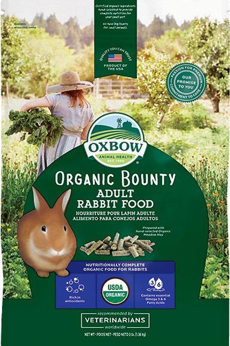 Oxbow Organic Bounty Rabbit Pellets
