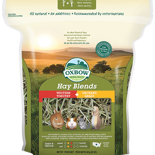 Oxbow Hay Blends Western Timothy and Orchard Grass
