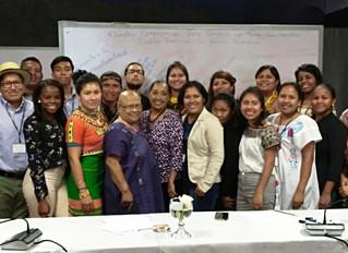 Jóvenes indígenas, protagonistas en la ruta hacia el hambre cero