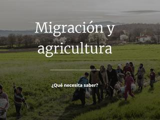 Migración y agricultura
