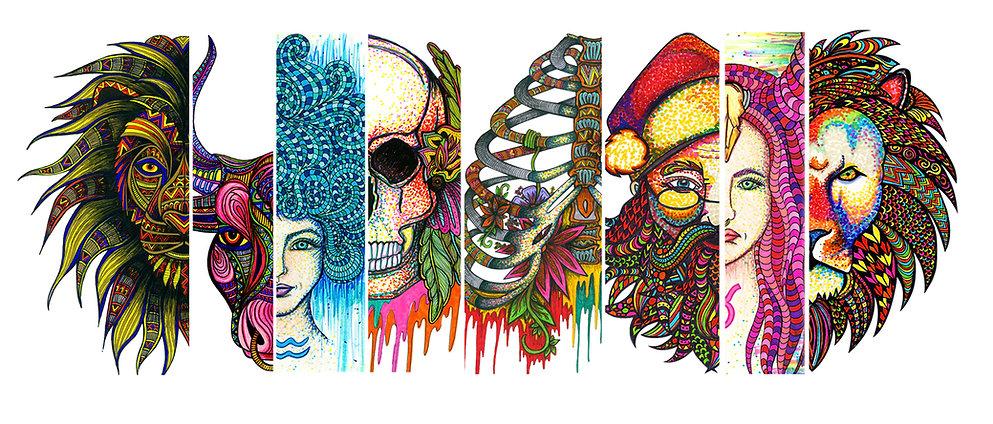 Britney Elizabeth Artistic Creations, Artwork