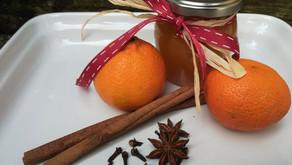 Weihnachtliche Mandarinenmarmelade