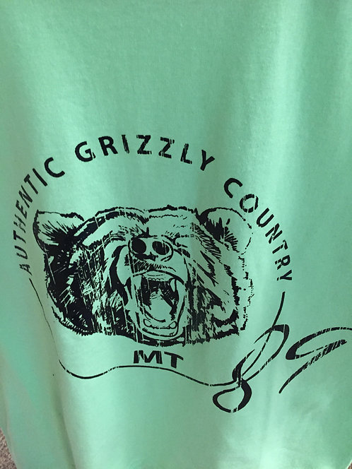 Montana Grizzly T shirt