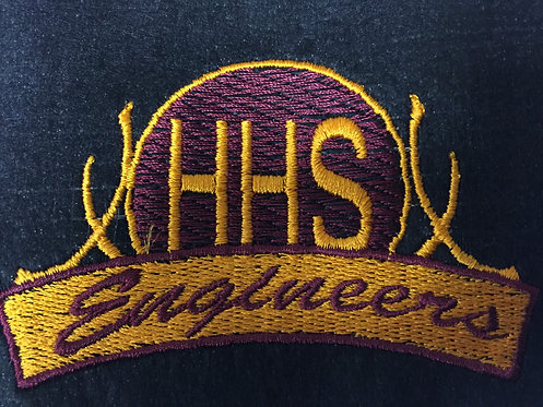 HHS Engineers logo on Left Chest