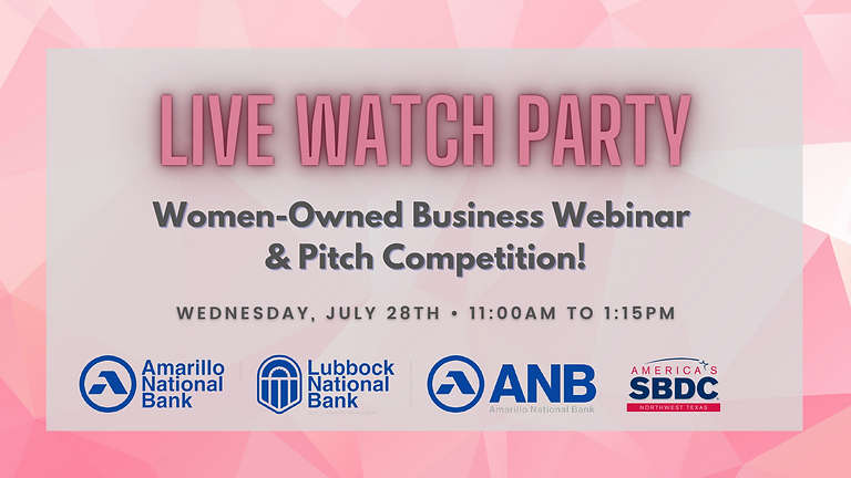 Live Watch Party for Women Business Owners