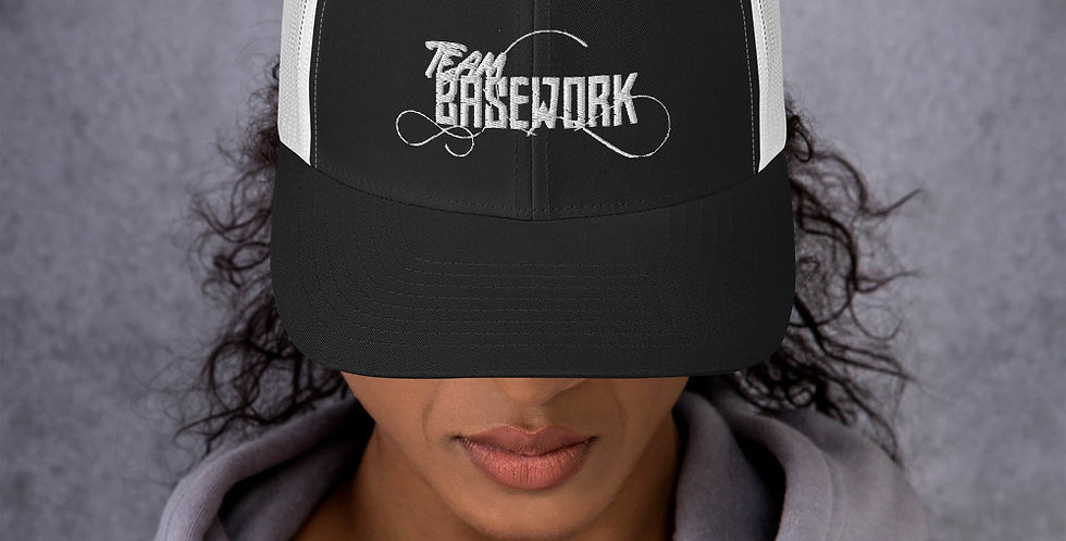 Embroidered T.B. Trucker Hat