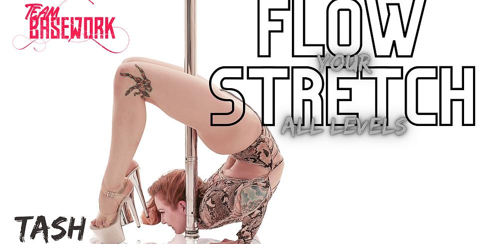 Flow Your Stretch w/ Tash (All Levels)