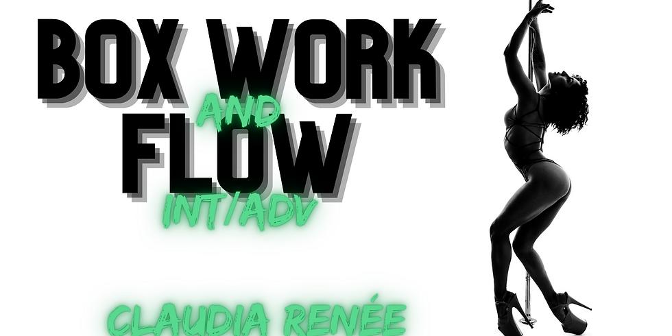 *NEW* Box Work & Flow w/ Claudia (INT/ADV)