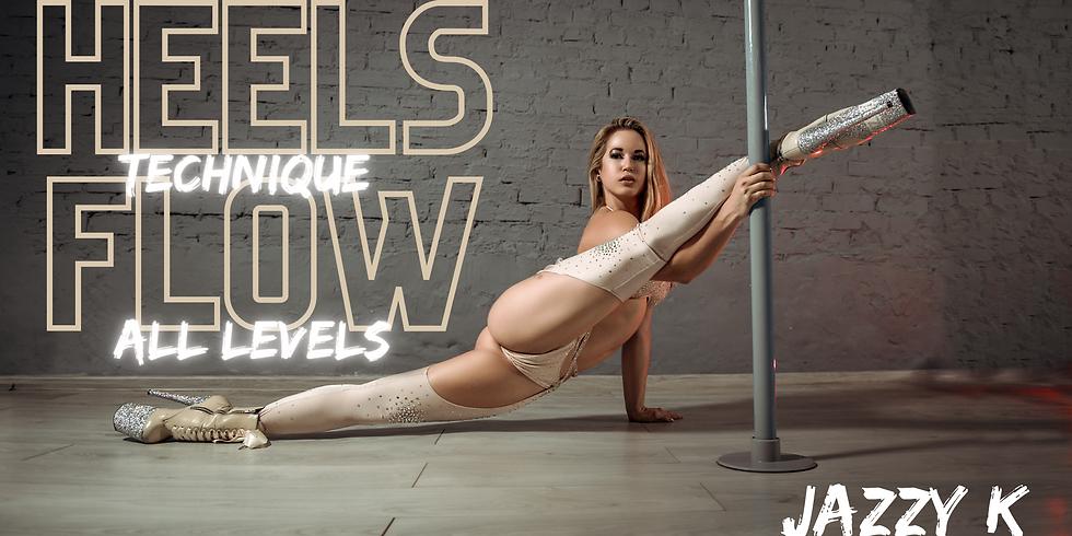Heels Flow w/ Jazzy K (INT)