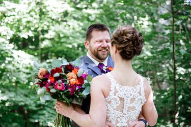 Wedding at Eagle Point Park in Clinton, Iowa