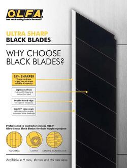 OLFA Black Blade Collateral