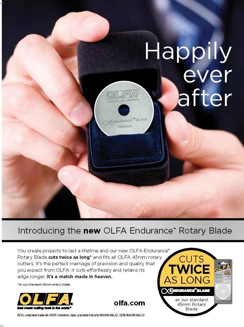 OLFA Endurance Rotary Blade Campaign