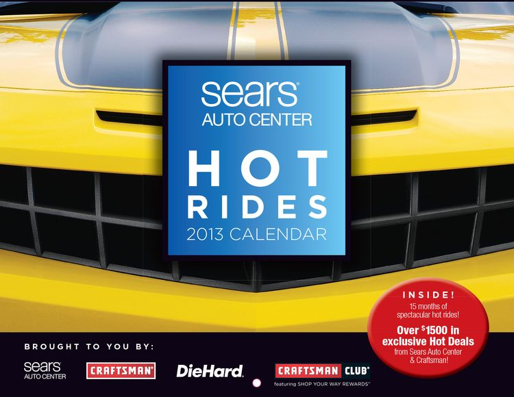 Sears Auto Calendar