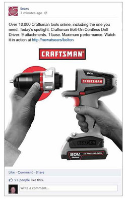 Craftsman FB Campaign