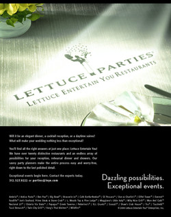 Lettuce Entertain You Parties