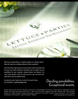 Lettuce Entertain You Parties