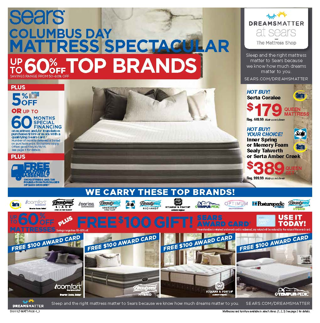 Sears Mattress ROP