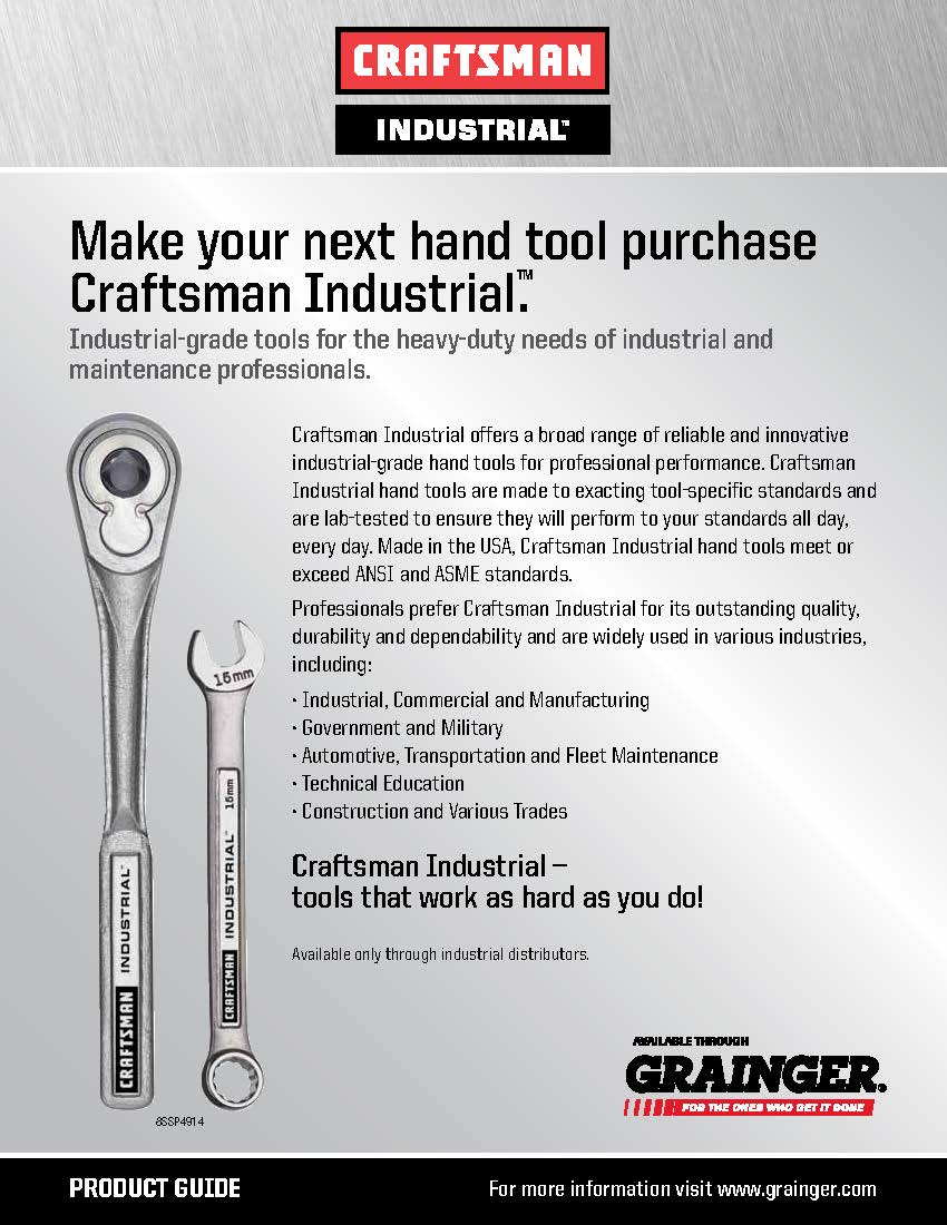 Craftsman Industrial Collateral