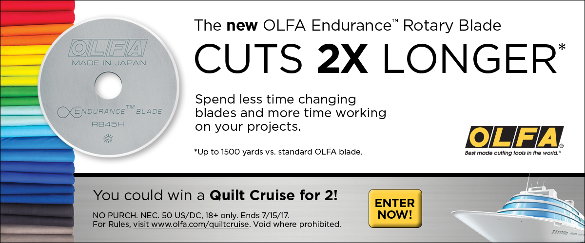 OLFA Endurance Blade Sweeps Campaign