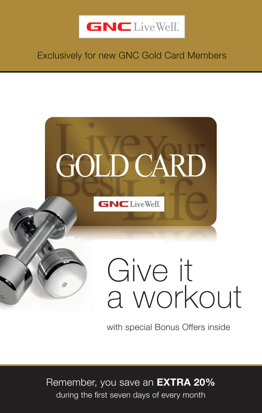 GNC Loyalty Program