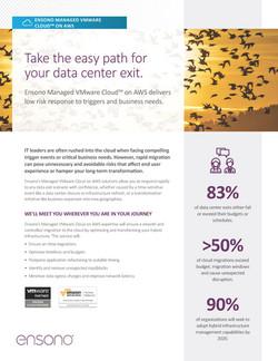 Ensono VMware on AWS Overview