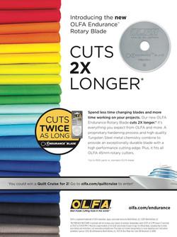 OLFA Endurance Blade Ad Campaign