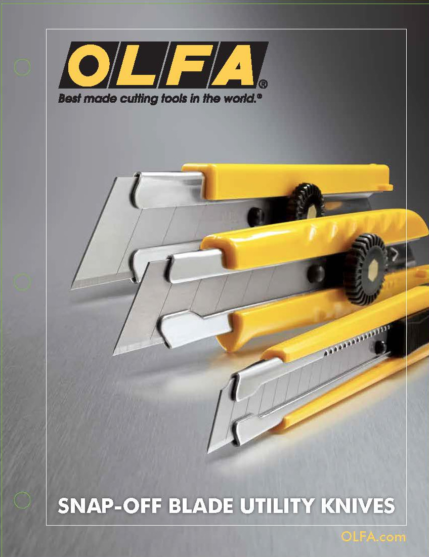 OLFA Professional Knives Collateral