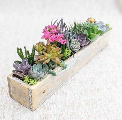 Large Wooden Centrepiece