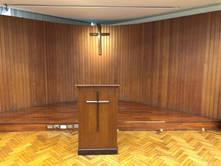 4F十字架及地板