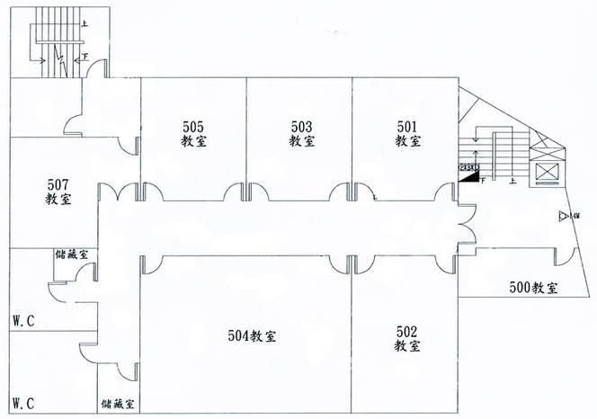 平面圖5F