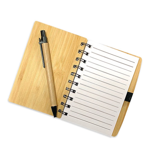 Cuaderno de bambú