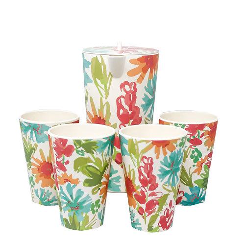 Set de Pichel y Vasos Cartagena