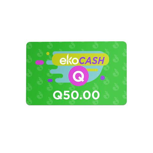 EKO CASH Q50.00