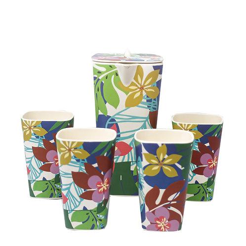 Set de Pichel y Vasos Curazao