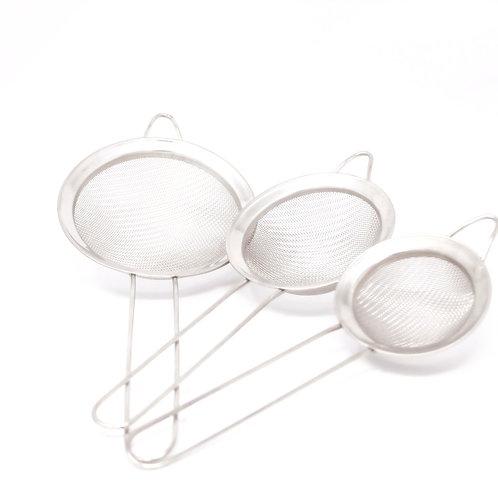 Coladores de acero set de 3