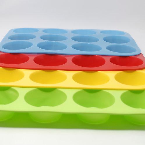 Molde para Cupcakes de silicón