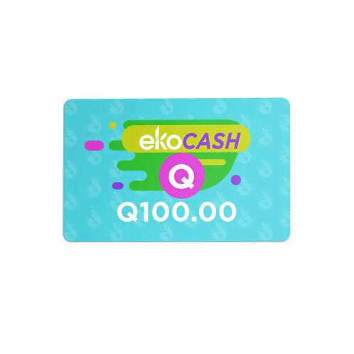 EKO CASH Q100.00