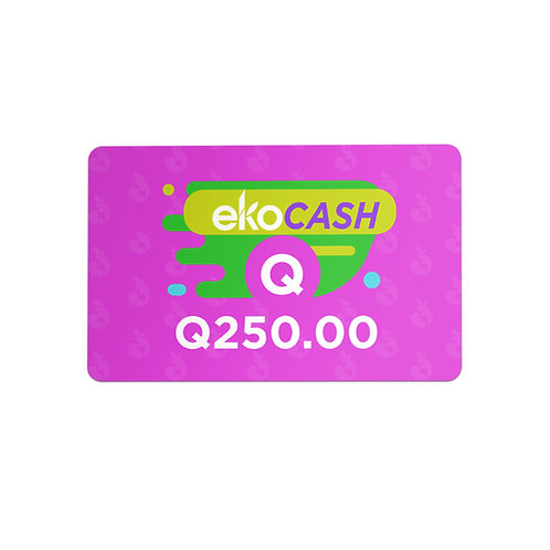 EKO CASH Q250.00