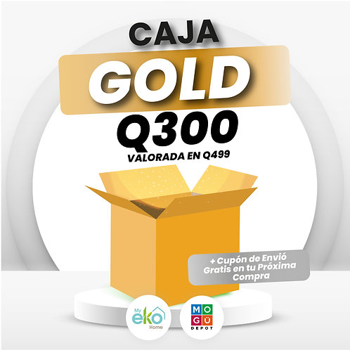 Caja sorpresa GOLD