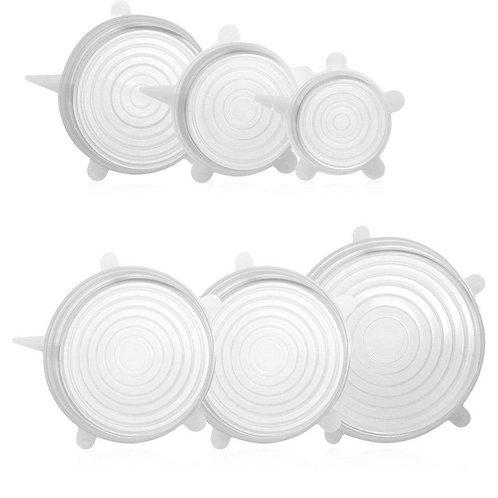 Tapas de Silicon (6 unidades)