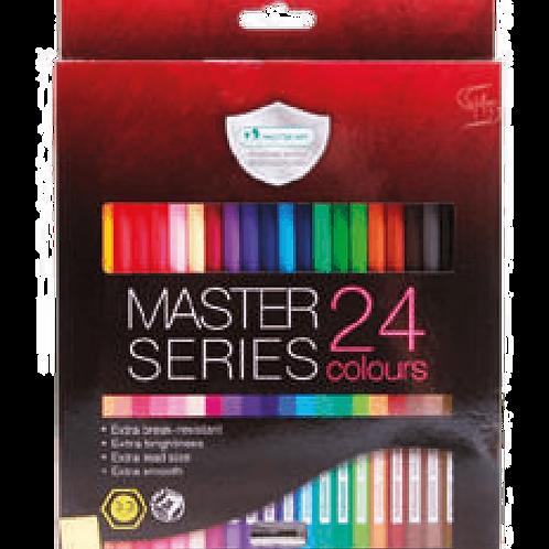 CrayonesMaster Series 24 Unidades